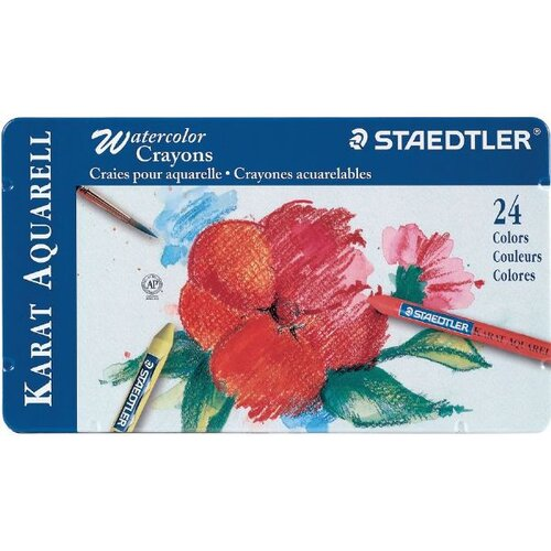 Staedtler, Inc. Karat Aquarell Watercolor Crayon