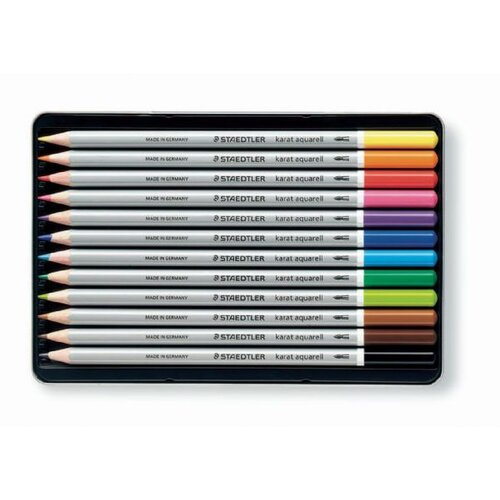 Staedtler, Inc. Karat Aquarell Watercolor Pencil (Set of 12)