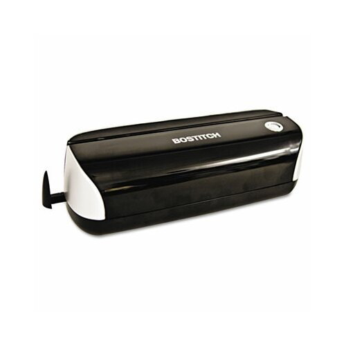Stanley Bostitch 12-Sheet Capacity Electric Three-Hole Punch