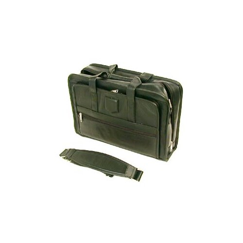 Stebco LLC Executive Leather Laptop Briefcase