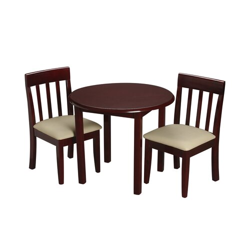 Children s 3 Piece Round Table and Chair Set