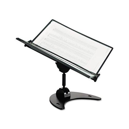 Tarifold, Inc. Technic 3D 360-Degree Desktop Stand, 10 Pockets, 20-Sheet Capacity, Black