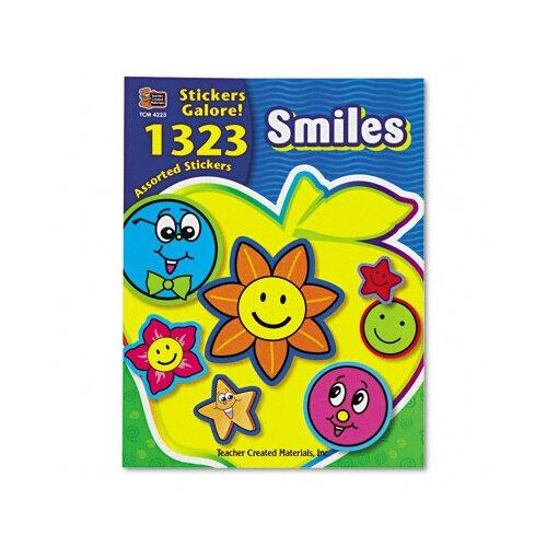 Teacher Created Resources Sticker Book, 1,323/Pack