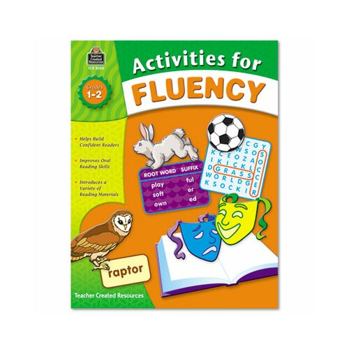 Teacher Created Resources Activities for Fluency Grades 1 To 2, 144 Pages