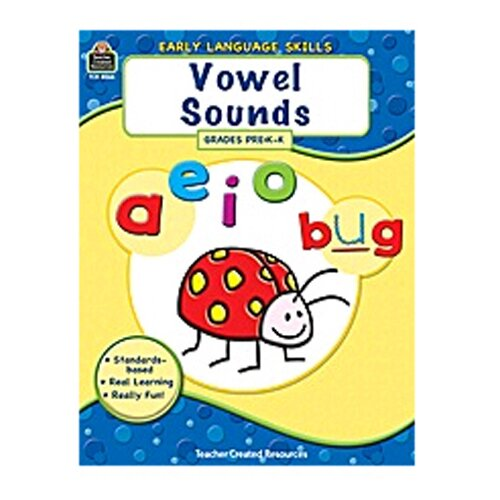 Teacher Created Resources Early Language Skills Vowel Sounds