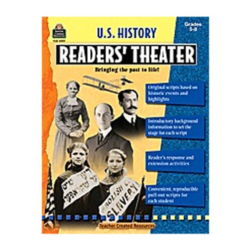 Teacher Created Resources Us History Readers Theater Gr 5-8
