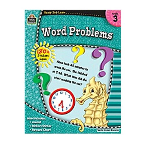 Teacher Created Resources Rsl Word Problems Gr 3