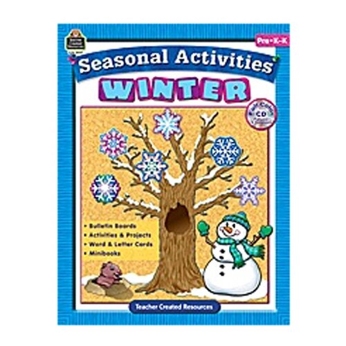 Teacher Created Resources Seasonal Activities Winter Gr Prek