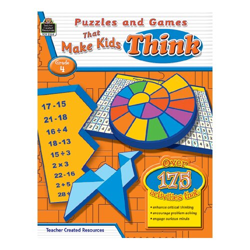 Teacher Created Resources Puzzles And Games That Make Kids