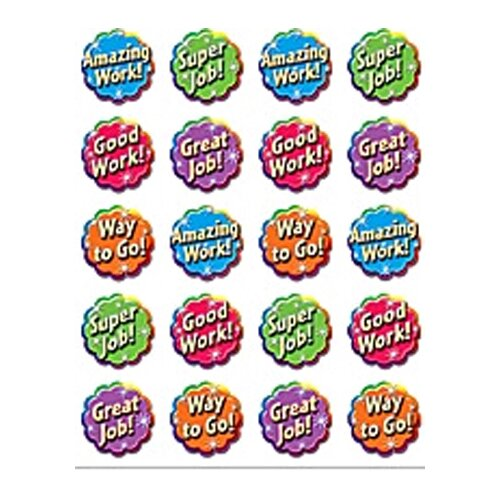 Teacher Created Resources Good Work Stickers 120 Stks