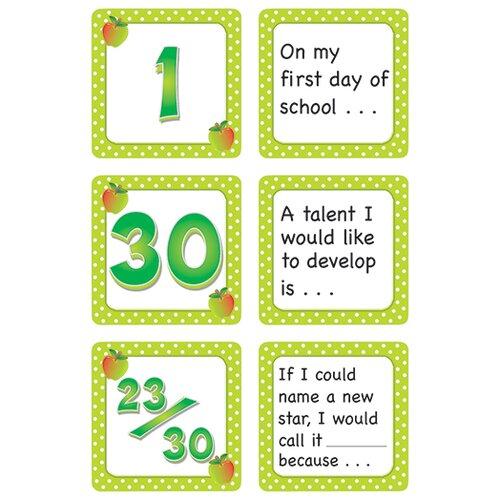 Teacher Created Resources September Polka Dots Calendar Days