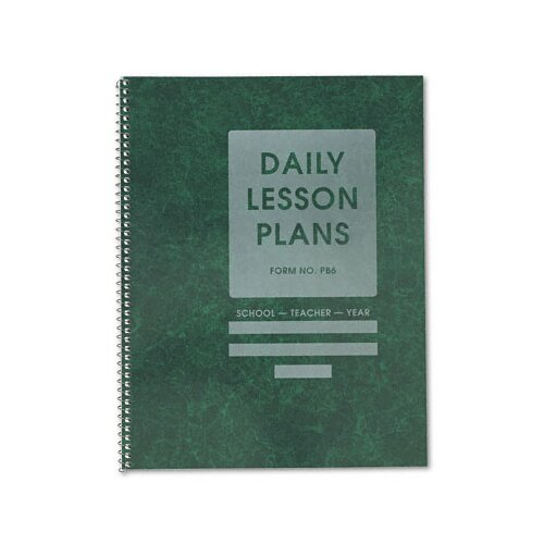 THE RIEGLE PRESS, INC. Common Cents Class Lesson Plan Book, 6 Classes/Day, 8-1/2 x 11