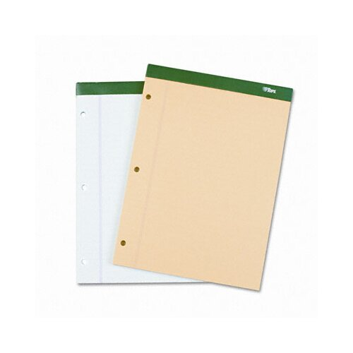 Tops Business Forms Double Docket Pad, Extra Stiff Back, Legal Rule, Letter, 100 Sheets