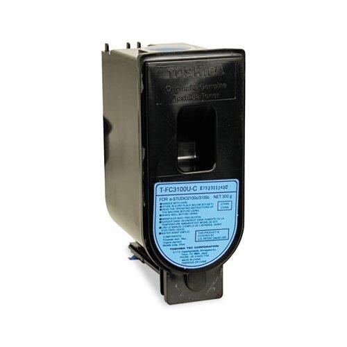 Toshiba TFC3100C Toner, 10700 Page-Yield, Cyan