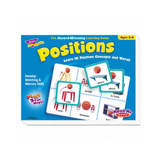 Trend Enterprises Positions Match Me Puzzle Game