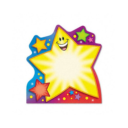 Trend Enterprises Note Pad with Super Star Design, 50 Sheets/Pad