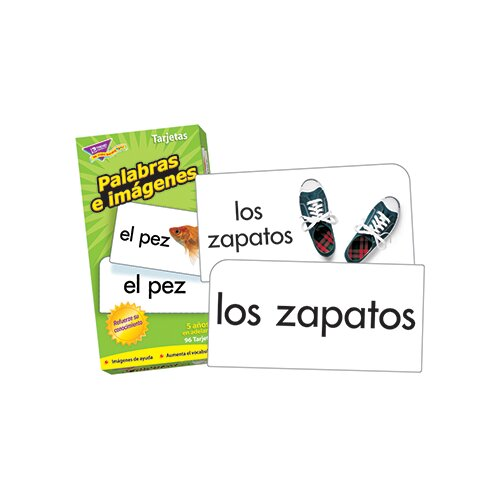 Trend Enterprises Flash Cards Palabras E 96/box