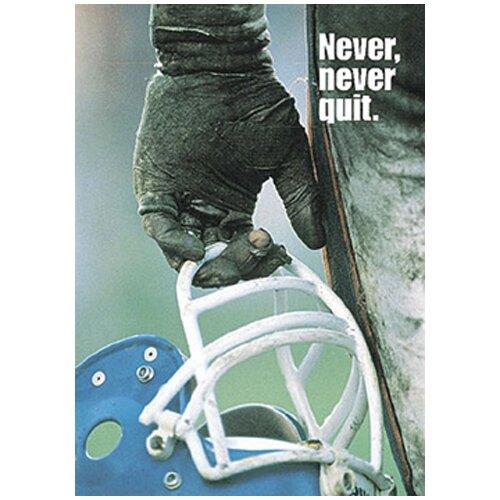 Trend Enterprises Poster Never Never Quit 13 X 19