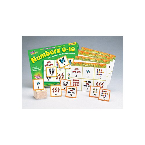 Trend Enterprises Match Me Game Numbers Ages 3 & up