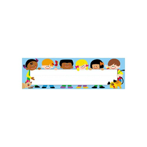 Trend Enterprises Desk Toppers Trend Kids 36/pk 2x9