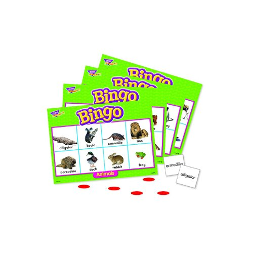 Trend Enterprises Animals Bingo Game