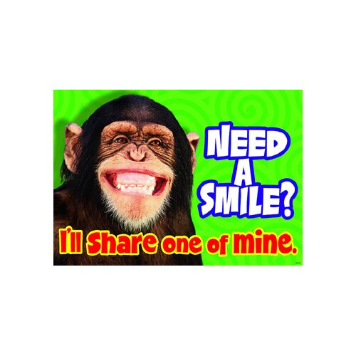 Trend Enterprises Need A Smile I Ll Share One poster