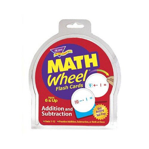 Trend Enterprises Math Wheel Flash Cards 12/pk