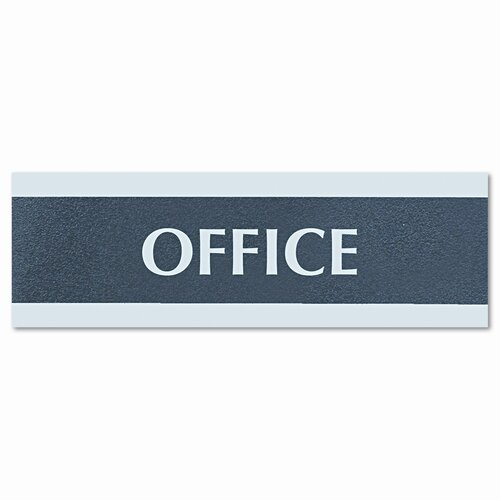 U.S. Stamp & Sign Headline Sign Century Series Office Sign, Office