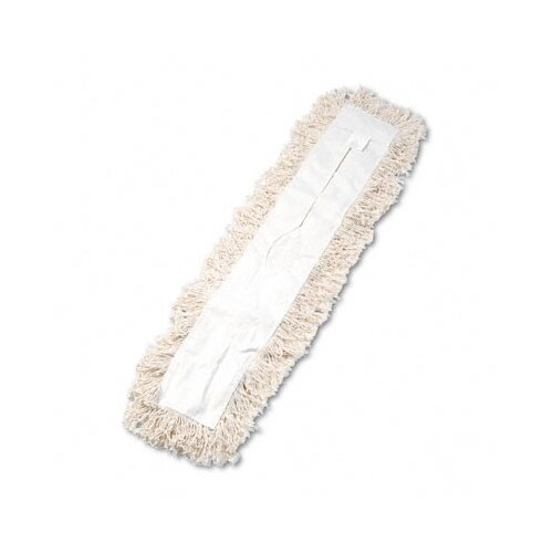 Unisan Industrial Dust Mop Head, Hygrade Cotton, 36W X 5D