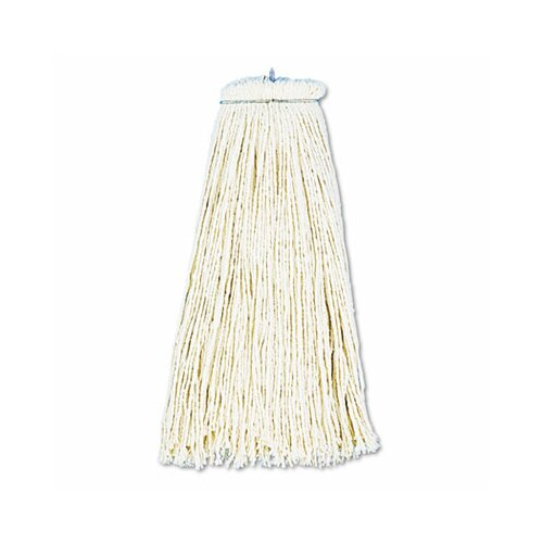 Unisan Cut-End Lie-Flat Wet Mop Head, Cotton