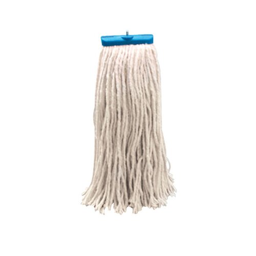 Unisan Economical Lie Flat Rayon Fibers Mop Head in White