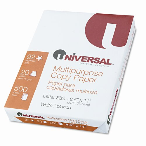 Universal® Copy Paper, 5000 Sheets/Carton