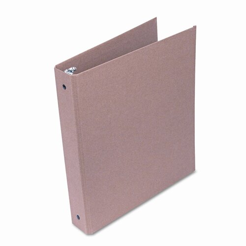 "Universal® Eco-Friendly Round Ring Natural Kraft Binder, 11 X 8-1/2, 1"" Capacity"