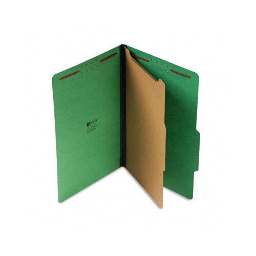 Universal® Pressboard Folder, Legal, Four-Section, 10/Box