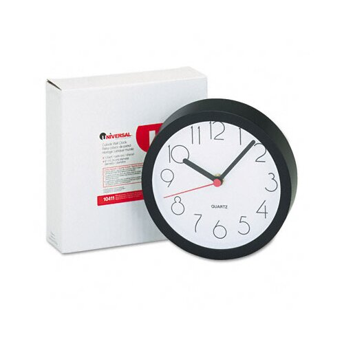 "Universal® Cubicle 6"" Wall Clock"