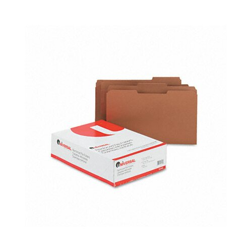 Universal® Kraft File Folders, 100/Box