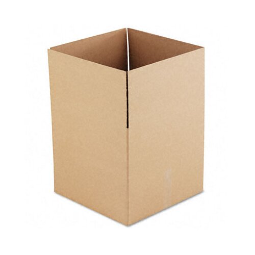 "Universal® Corrugated Kraft Fixed-Depth Shipping Carton, 15/Bundle (36.5"" H x 35"" W x 5"" D)"