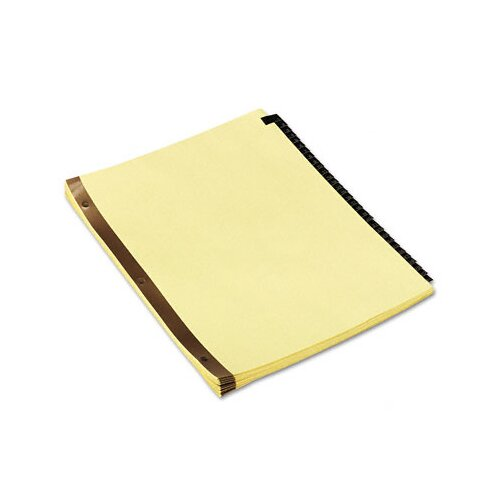 Universal® Leather-Look Mylar Tab Dividers