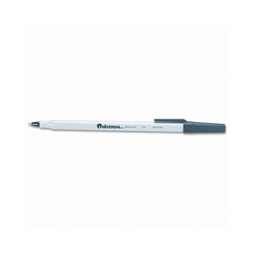 Universal® Economy Ballpoint Stick Oil-Based Pen, 12/Pack