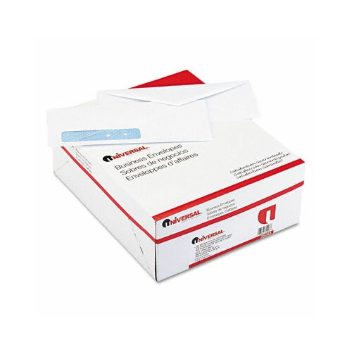 Universal® Security Tinted Window Business Envelope, 500/Box