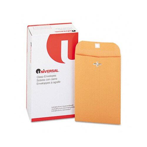 Universal® Kraft Clasp Envelope, 100/Box