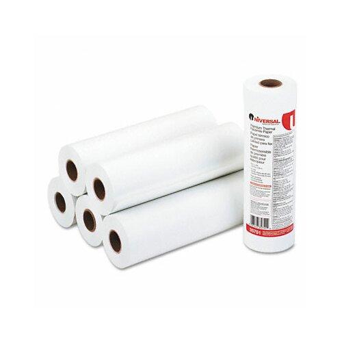 Universal® Economical Thermal Facsimile Paper, 6/Carton