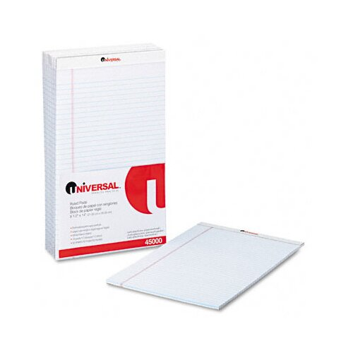 Universal® Perforated Edge Writing Pad, 12/Pack