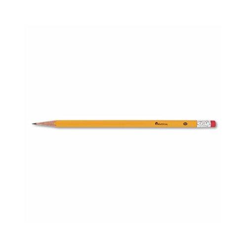 Universal® Economy Woodcase Pencil, 144/Box