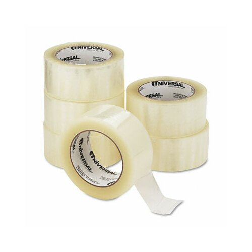 Universal® Quiet Carton Sealing Tape, 6/Box