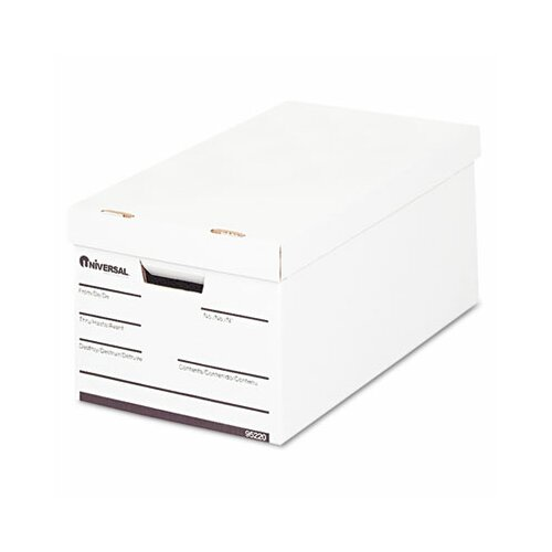 Universal® Lift-Off Lid File Storage Box, 12/Carton