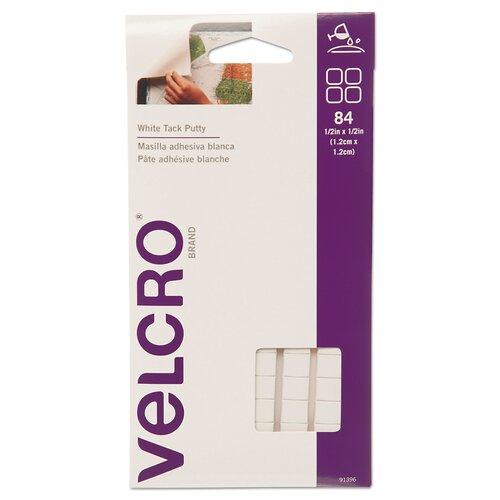 VELCRO USA Inc Removable Sticky Fix Tak, 84 Squares/Pack