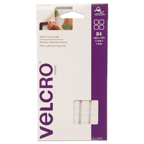 VELCRO USA Inc Removable Sticky Fix Tak (Pack of 84)