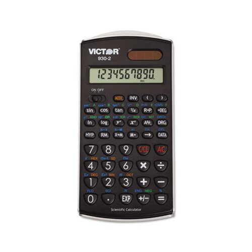 Victor Technology Scientific Calculator, 10-Digit Lcd