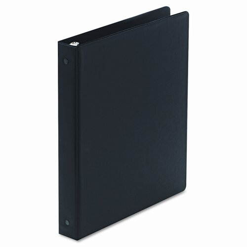 Wilson Jones Basic Vinyl Round Ring Binder, 1in Capacity